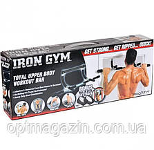 Турник тренажер для дома Iron Gym 3 в 1, фото 2