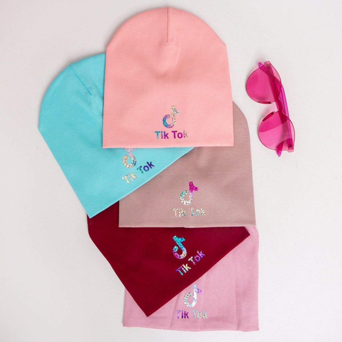 Шапка для дівчинки на весну-осінь оптом - Артикул IH7