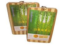 Доска разделочная (бамбук)24*34