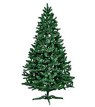 """Искуственная елка """"Рождественская"""" ПВХ, с шишками, зеленая 2,1 м"""