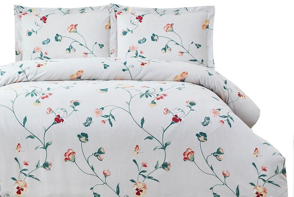 Комплект постельного белья Arya семейный Simple Living Delina 160х220 см. (A107006)