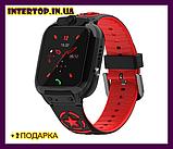 Детские смарт часы Smart Baby watch AISHI DS 60 с Wi-Fi сине - черный цвет +  2 ПОДАРКА. Детские GPS часы, фото 3