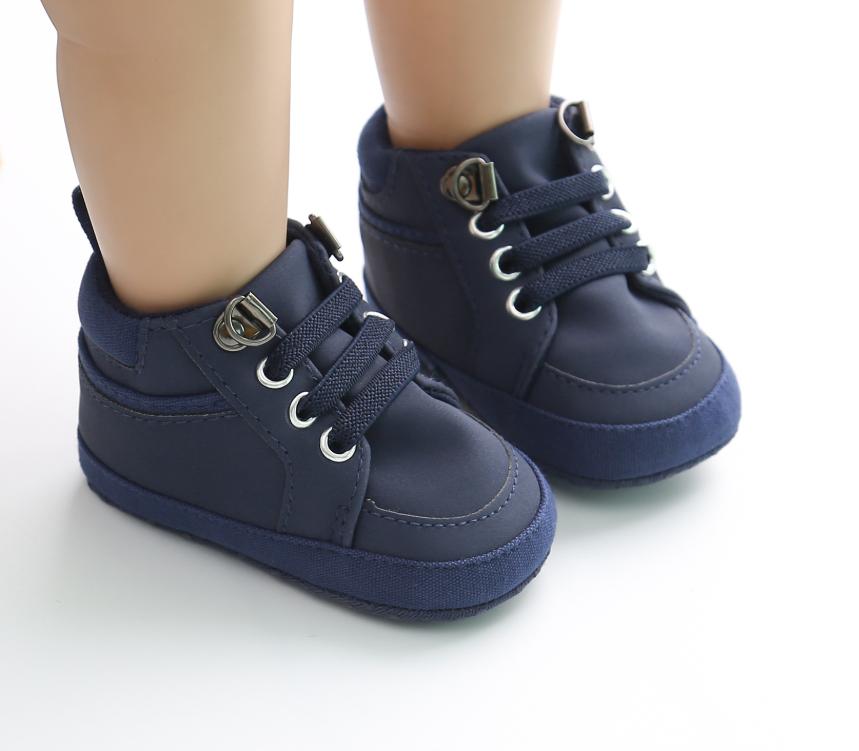 Пінетки-кеди хлопчачі Люкс Бой синій 11