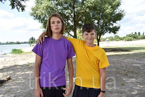 Футболка сиреневая подростковая на мальчика, фото 2