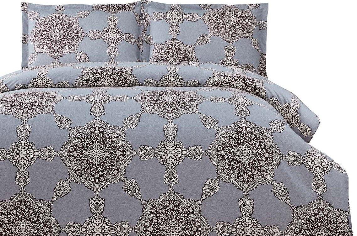 Комплект постельного белья Arya семейный Simple Living Alonna 160х220 см. (A107022)