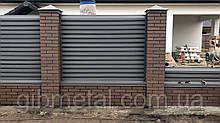Забор жалюзи 0,5 ArcelorMital (Польша, Германия, Бельгия) - ламель