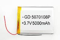 Літій-полімерний акумулятор 3.7 V 93х70х5 5000 mAh