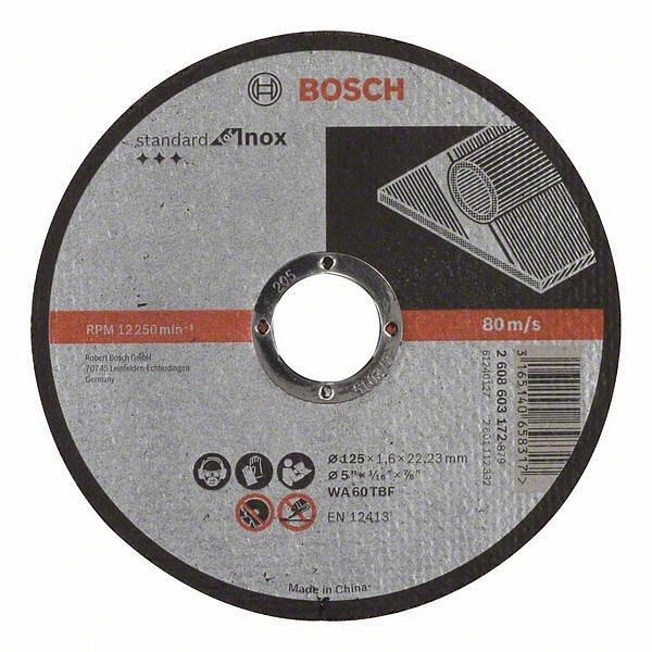 Отрезной круг Bosch (2608603172) Standard for Inox 125 x 1.6 мм