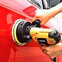 Электрическая полировальная машинка для авто HILDA 220v 700w 6 регулируемых скоростей, фото 6