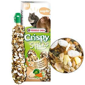 Лакомство с рисом и овощами Versele-Laga Crispy Sticks Rice&Vegetables для мелких грызунов 2 шт.