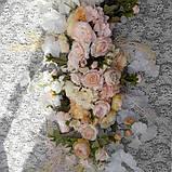 """Цветы на арку"""" розовая пудра"""", фото 2"""
