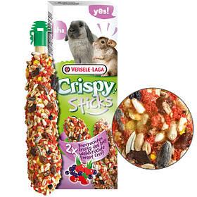 Ласощі з дикими ягодами Versele-Laga Crispy Sticks Forest Fruit для кроликів і шиншил 2 шт.