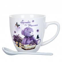"""Чашка """"Медвежонок с лавандой"""" 150 мл, фото 3"""