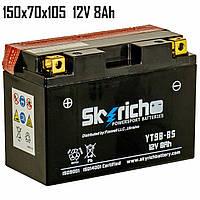 Аккумулятор  8Ah 12V Skyrich YT9B-BS SLA 150x70x105