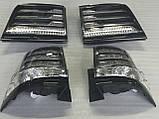 Диодные стопы на Lexus LX570 под рестайлинг, фото 4