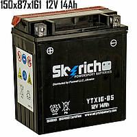 Аккумулятор 14Ah 12V Skyrich YTX16-BS SLA 150x87x161