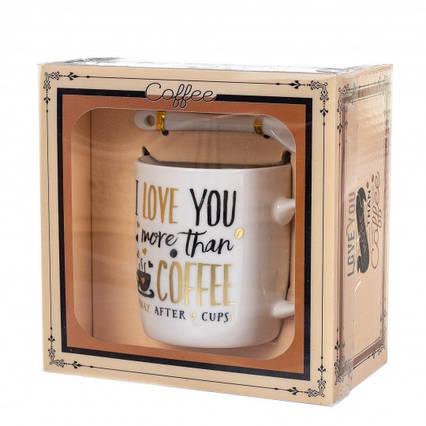 """Чашка """"Love coffe"""" 200 мл, фото 2"""