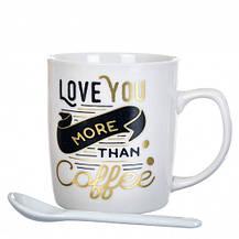 """Чашка """"Love coffe"""" 200 мл, фото 3"""
