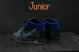 Подростковые кеды кожаные зимние синие CrosSAV 35, фото 3