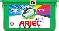 Капсулы для стирки цветного белья Ariel Pods Color of Lenor 3 в 1 40 шт