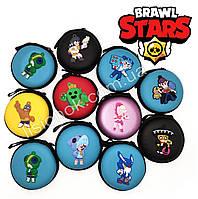 Силиконовый кошелек старс на змейке с героями любимой игры Stars, фото 1