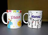 Чашка детская единорог, фото 3