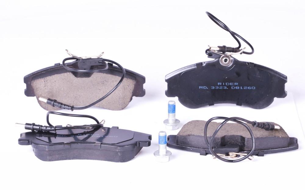 Колодка гальмівна дискова CITROEN BERLINGO 96 - передня (з датчиком) (RIDER) (арт. RD.3323.DB1260)