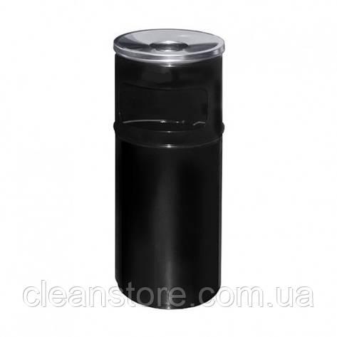 Урна-попільничка чорна, фото 2
