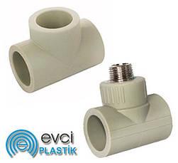 Трійники поліпропіленові Evci Plastik