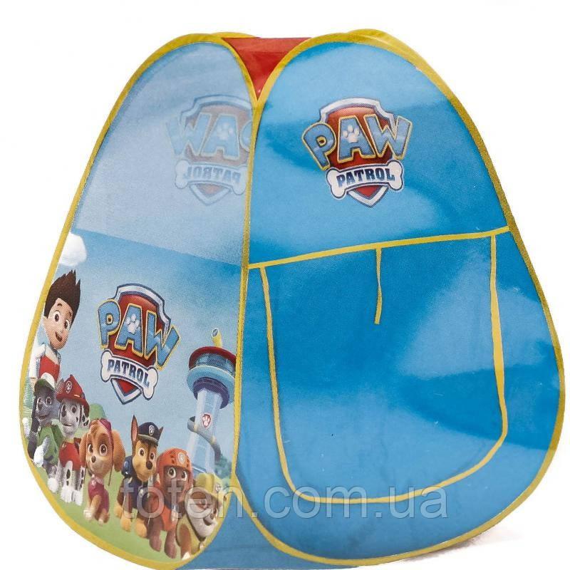 Детская палатка Щенячий патруль  HF010-А