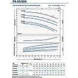 Центробежный поверхностный электронасос Pedrollo F4-50/250D, фото 8