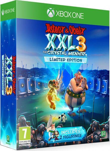 Asterix and Obelix XXL 3 The Crystal Menhir Limited Edition (англійська версія) Xbox One