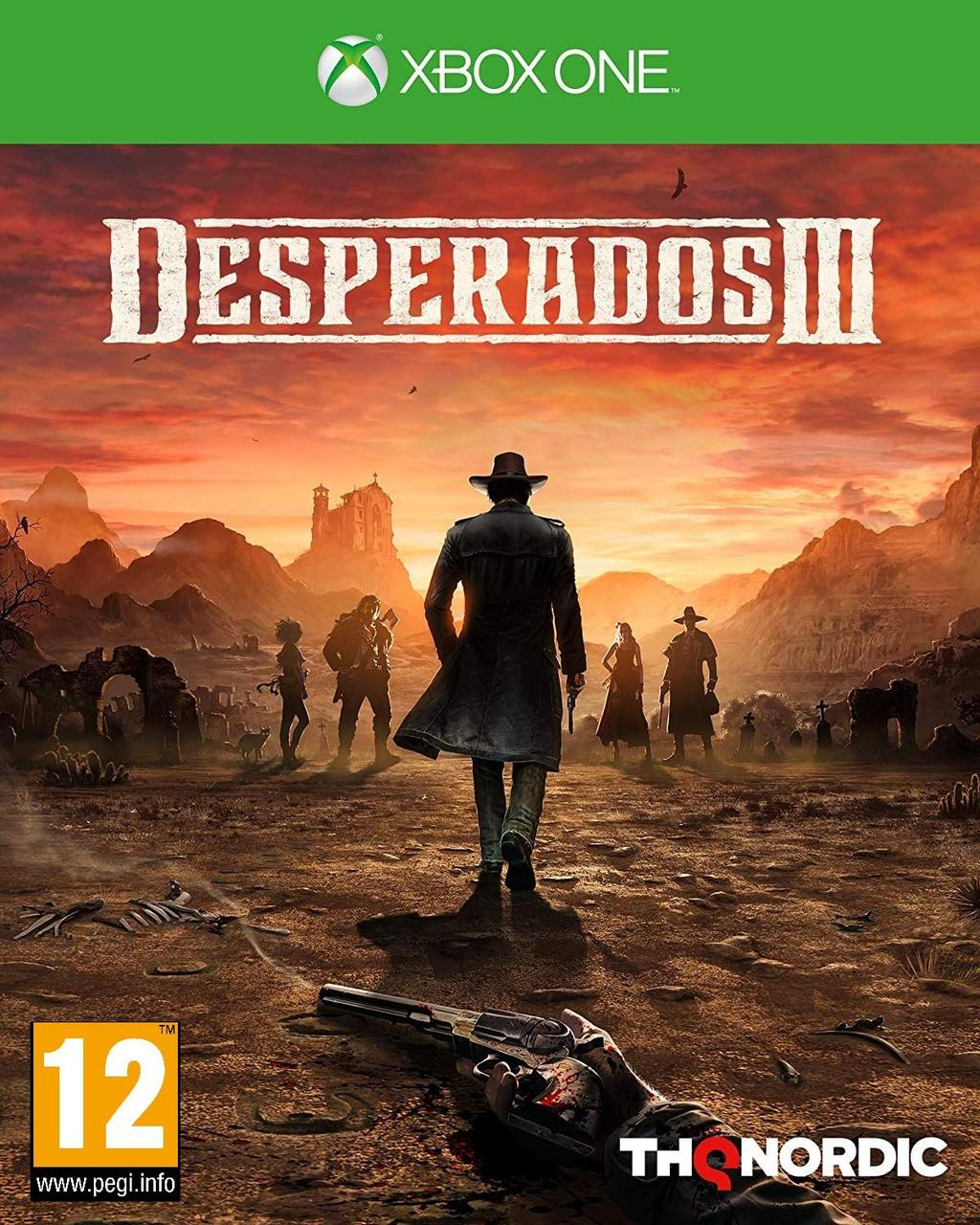 Desperados III (російська версія) Xbox One