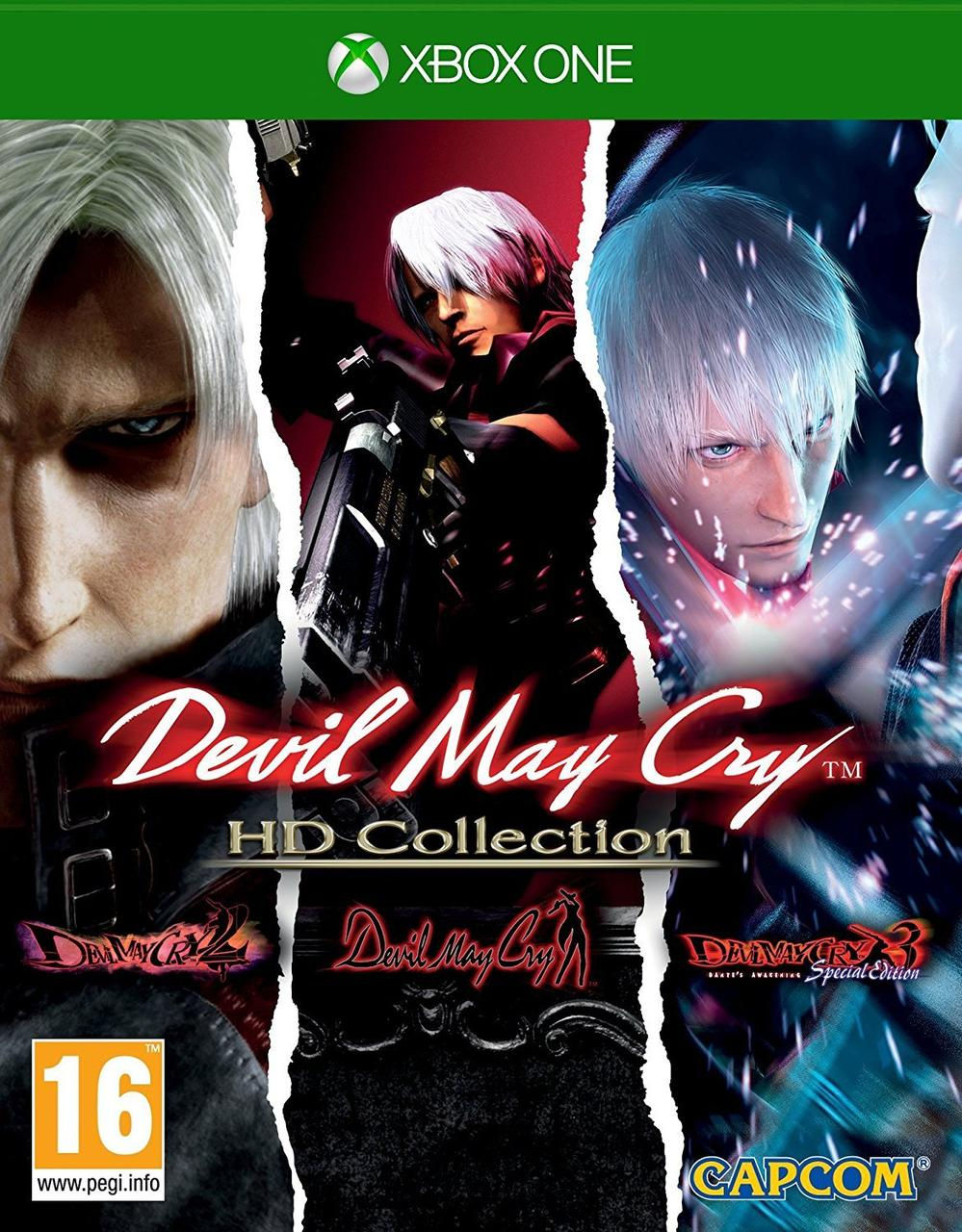 Devil May Cry HD Collection (англійська версія) Xbox One