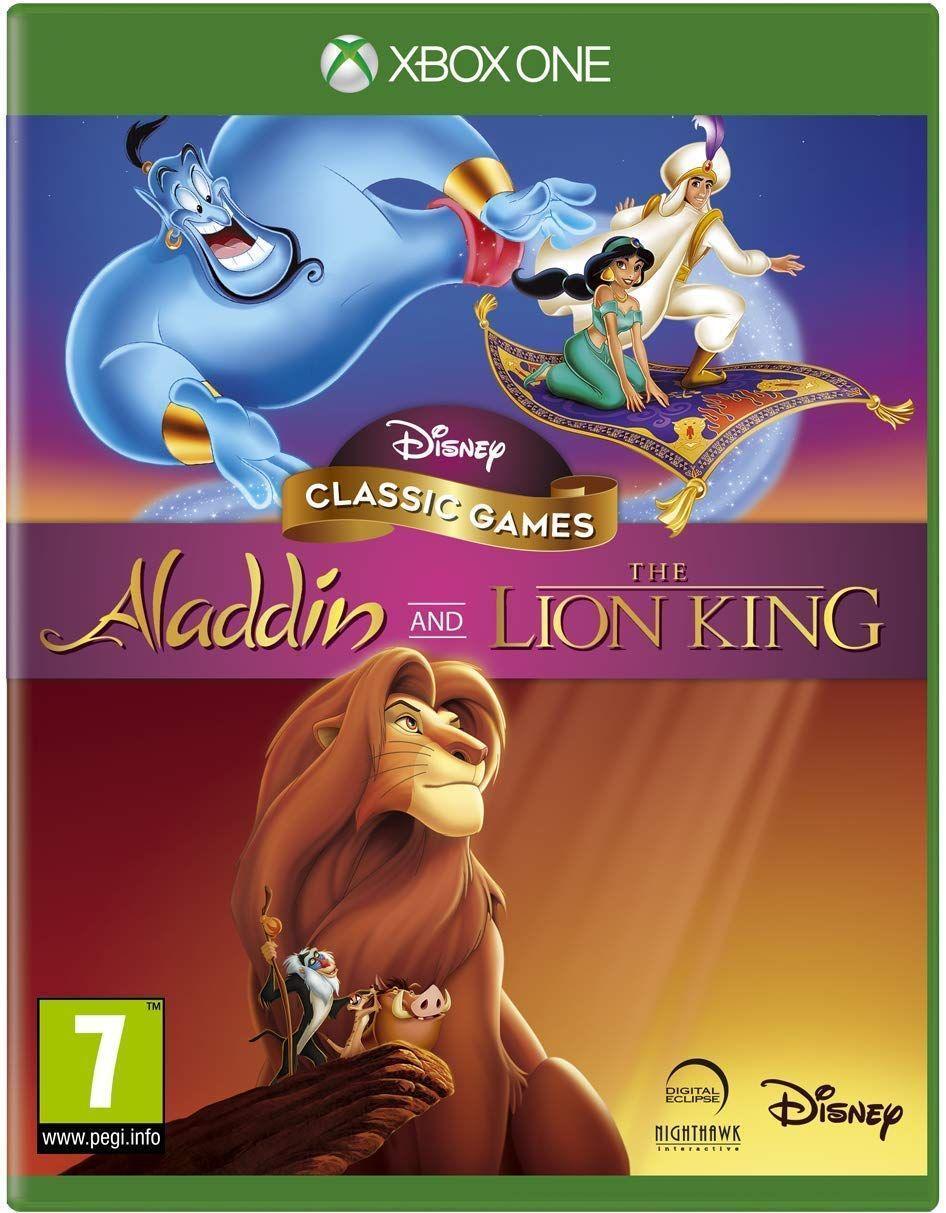 Disney Classic Games Aladdin & The Lion King (англійська версія) Xbox One