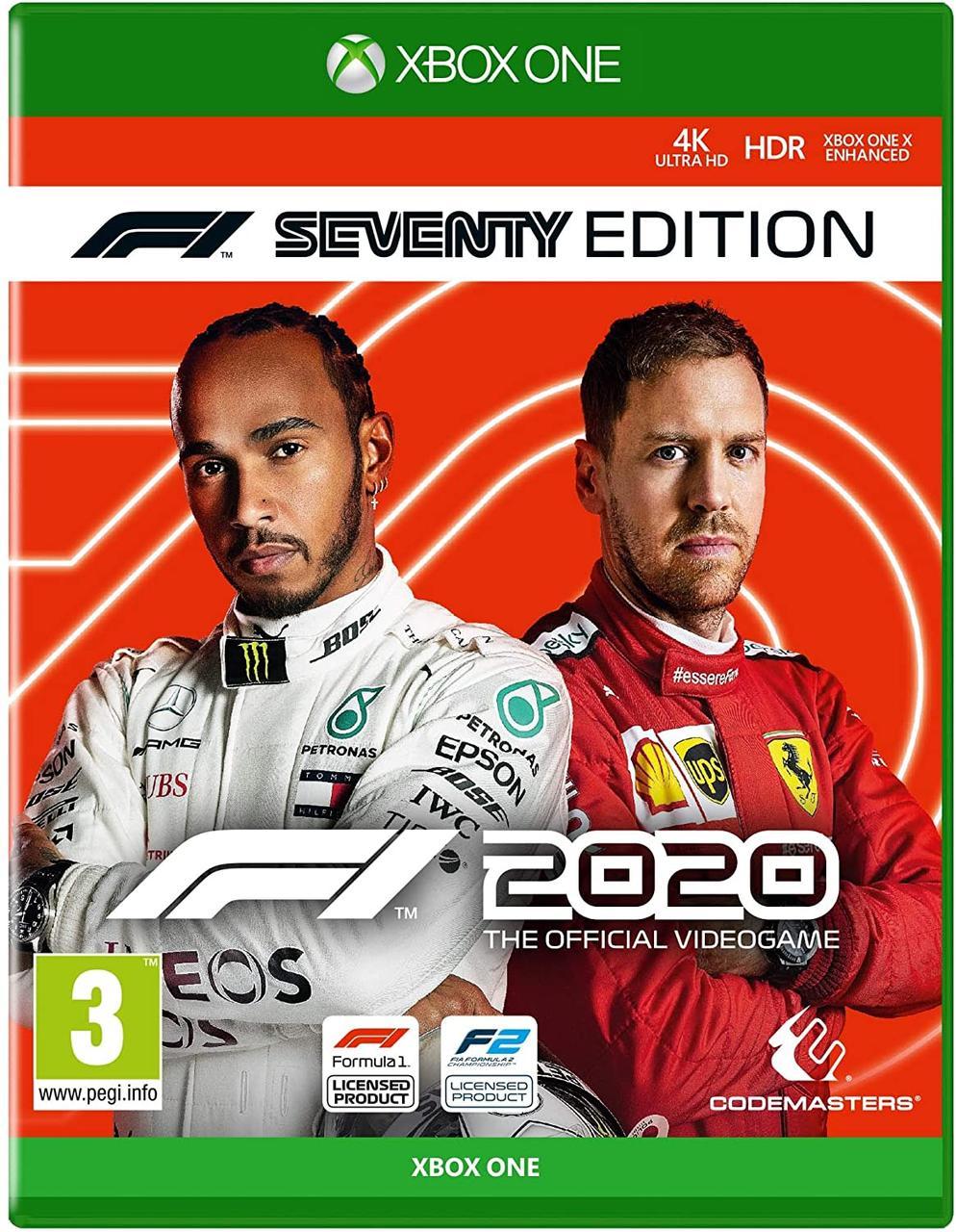 F1 2020 Seventy Edition (английская версия) Xbox One