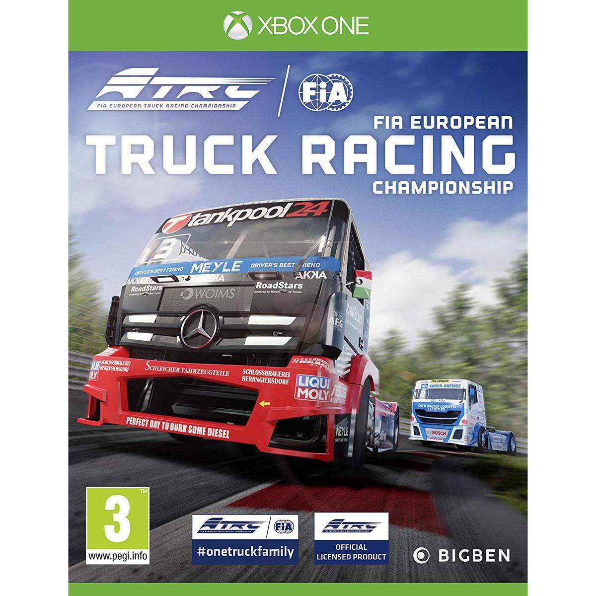 FIA Truck Racing Championship (английская версия) Xbox One