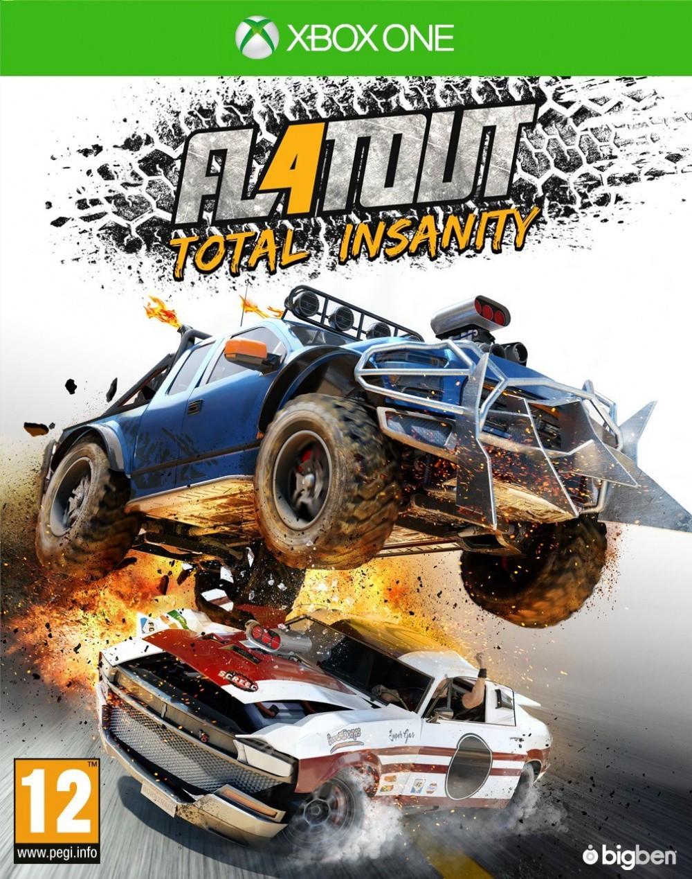 FlatOut 4 Total Insanity (русские субтитры) Xbox One