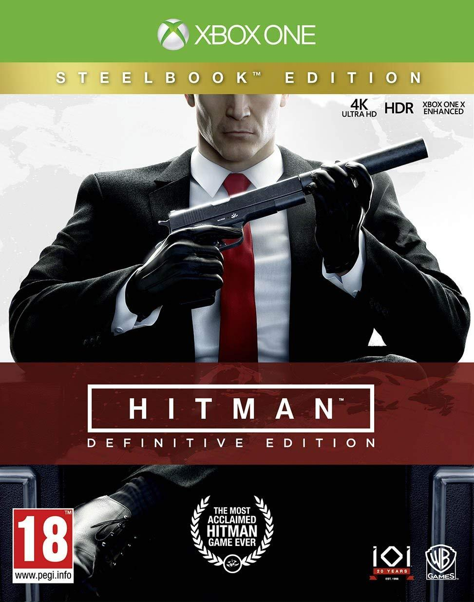 Hitman Definitive Steelbook Edition (російські субтитри) Xbox One