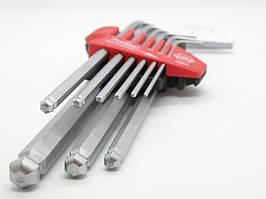 Набор шестигранных штифтовых ключей (сфер.головка) 9 предм. WIHA