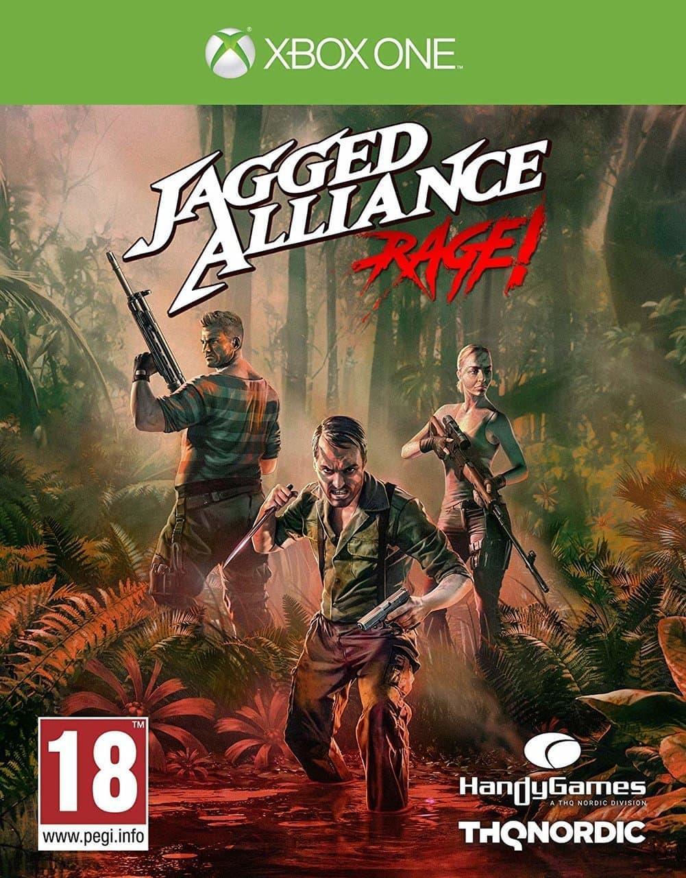 Jagged Alliance Rage (російська версія) Xbox One