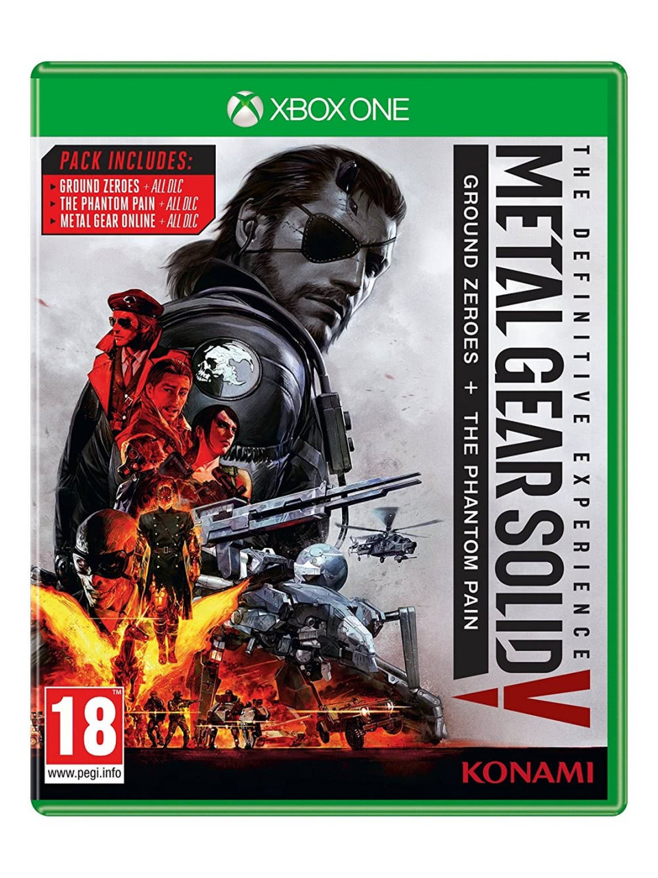 Metal Gear Solid V Definitive Experience (русские субтитры) Xbox One