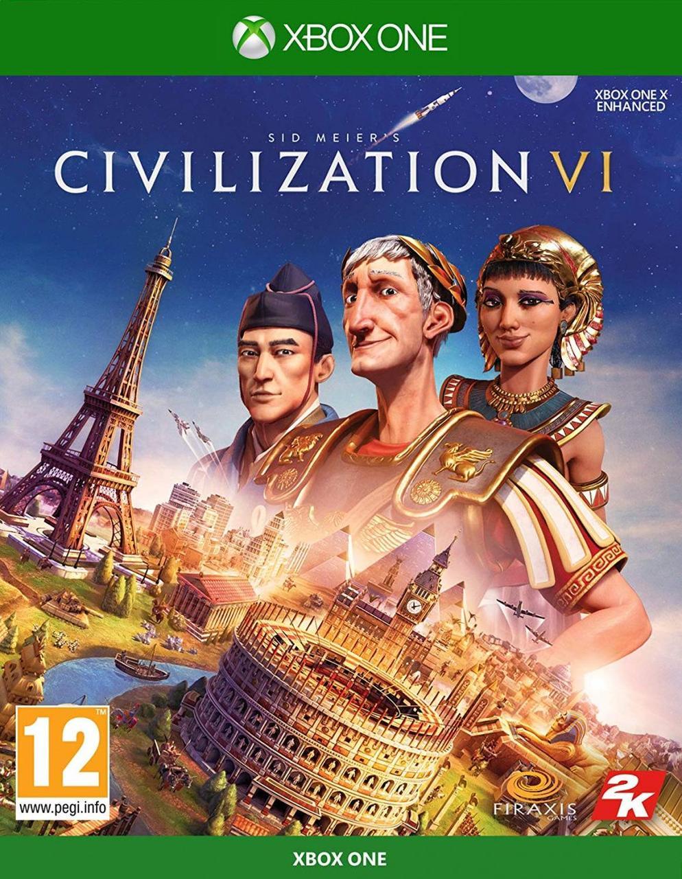 Sid Meiers Civilization VI (русские субтитры) Xbox One