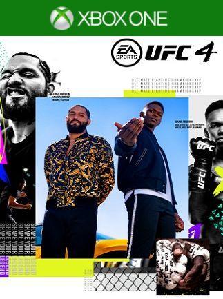 UFC 4 (російські субтитри) Xbox One