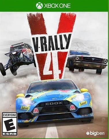 V-Rally 4 (російські субтитри) Xbox One