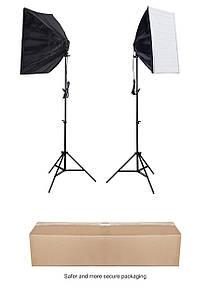 Набір студійного світла (софтбокси (50x70) 2 шт +2 шт стійки)