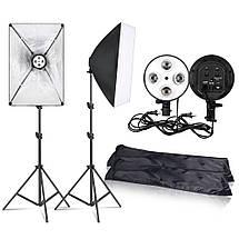 Набор студийного света  (софтбоксы (50x70) 2 шт +2 шт стойки), фото 3