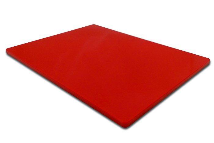 Доска кухонная FoREST Resto Line красная 50х40 см h2 см пластик (470154)