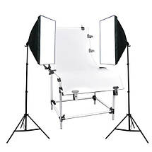Набор студийного света  (софтбоксы (50x70) 2 шт +2 шт стойки), фото 2