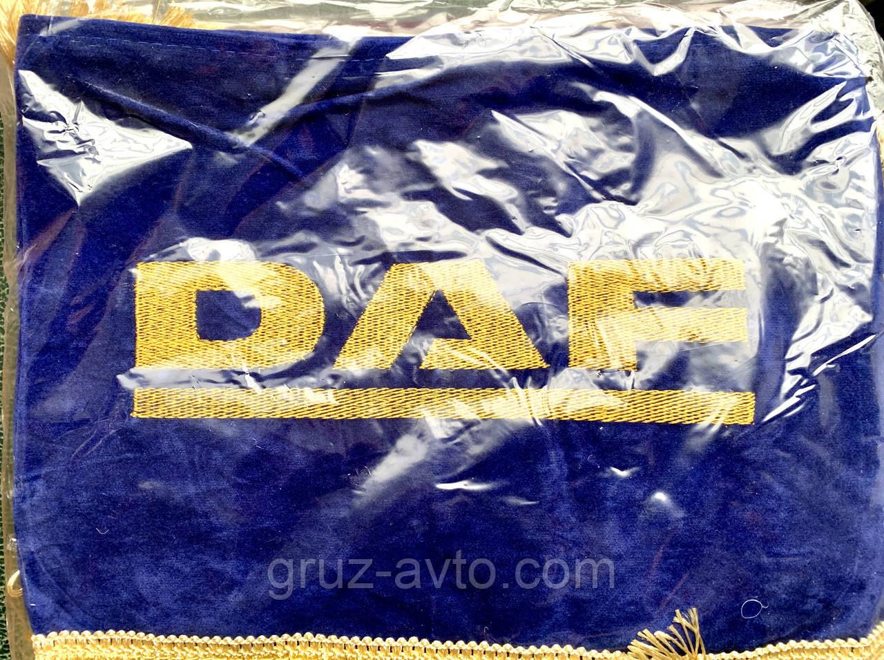 Шторки в кабину DAF ДАФ лобовое стекло-1 и боковые-2. цвет синий